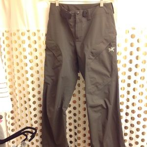 Women Arc'Teryx Waterproof Goretex Pants S beta Sl